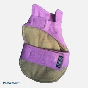 Pink Pea Coat Style Jacket For Dogs Size XXS Pup